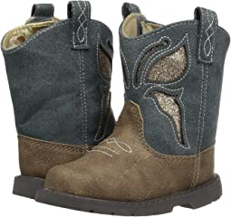 Baby Deer - First Steps Western Butterfly Boot (Infant)