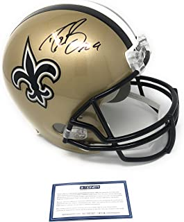 867cc2c34 Drew Brees New Orleans Saints Signed Autograph Full Size Helmet Steiner  Sports Certified