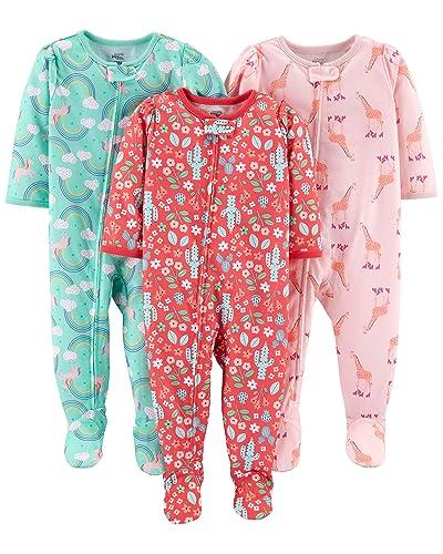 ed4c7d0ecf Carter s Zipper Pajamas  Amazon.com