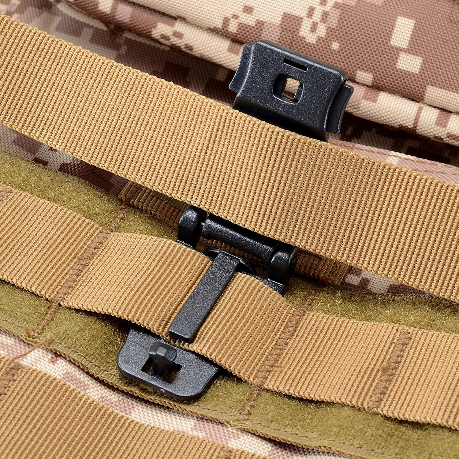 Pistol Magazine Storage Pouch Raiseek Molle 8 Mag Pouch with Cover