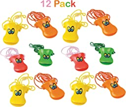 Bag Stuffers by Kidsco Pi/ñata Fillers Fun Pack of 6-1.75-2.75 Assorted Colored Bugs Vinyl Insect Finger Puppets Toy for Kids Great Party Favors Prize Gift