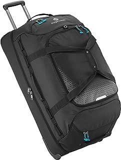Expanse Drop Bottom Wheeled Duffel Bag, 32-Inch, Black