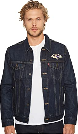 Ravens Sports Denim Trucker