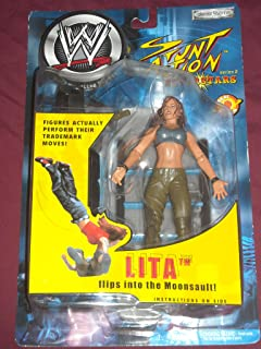 WWE Wrestling Lita Stunt Action Superstars Series 2 Action Figure