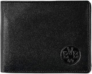 Borussia Dortmund, Leather Wallet, Black-Yellow,