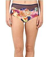 SAHA - Selene High Waist with Mesh Bikini Bottom