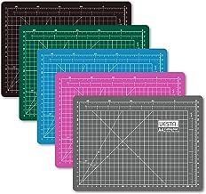(Gray) - UESTA A4 (12L x 9W inch) (300 x 220 mm) Self Healing 5 Layers PVC Colourful Cutting Mat (Grey)