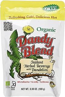 Sponsored Ad - 50 Cup Bag of Certified Organic Dandy Blend Instant Herbal Beverage with Dandelion, 3.53 oz. (100g) Bag