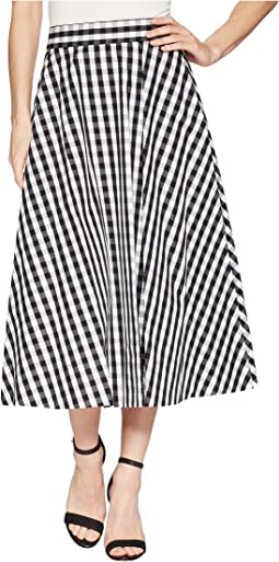 Kate Spade New York Gingham Circle Skirt