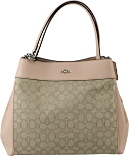 Lexy Shoulder Bag in Outline Signature 2018 Collection Style F57612