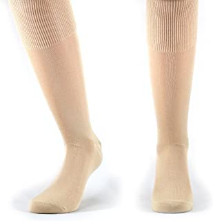 Fontana Calze, 6 paia di calze UOMO lunghe in 100% Cotone Filo di Scozia.