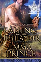 Falling for the Highlander: A Time Travel Romance (Enchanted Falls Trilogy, Book 1) (English Edition)