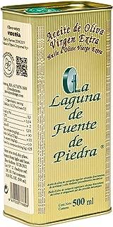 La Laguna de Fuente de Piedra | Extra Virgin Olive Oil | New Harvest 2018/19 | 16.9 fl oz | Single Origin | Small Batch | First Cold Press | Unblended | Family Estate | 100% Viduena Olive | Spanish
