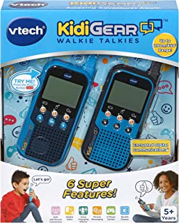 VTech KidiGear Walkie Talkies for Kids, Outdoor 65-Foot Long Distance Walkie Talkies with Secure Digital Connection, Suita...