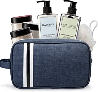 SpaLusive Luxury Spa Gift Set for Men - Natural Men's Body Care Bath Essentials
