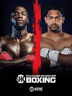 Showtime Championship Boxing: Wilder vs. Breazeale