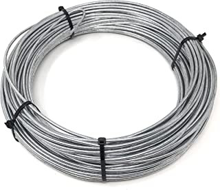 9 g Low Tensile Smooth Brace Galvanized Utility Wire- Zinc Coated Class III 170 feet USA-Solid Steel Annealed Soft 10 lb.