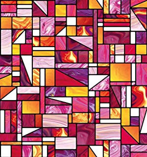 DC Fix 338-8140 Geometric Window Adhesive Film, Multicolor
