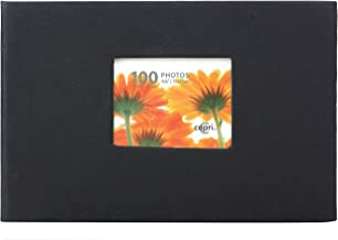 آلبوم عکس Kiera Grace ، دارای 100 عدد 4 اینچ با عکسهای 6 اینچی ، سیاه