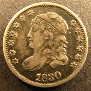 1830 Silver Capped Bust Dime