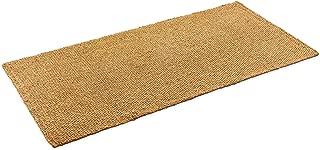 Kempf Coco Coir Natural Rug with Anti-Slip Latex Backing 3' x 6'