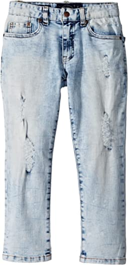Lucky Brand Kids - Splatter Denim Pants (Little Kids/Big Kids)
