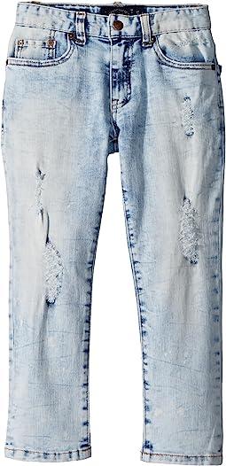 Splatter Denim Pants (Little Kids/Big Kids)