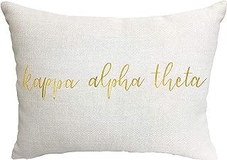 Kappa Alpha Theta Sorority Throw Pillow
