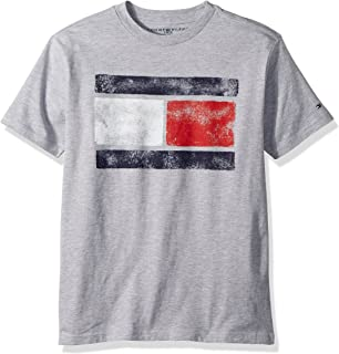 Tommy Hilfiger Boys' Short Sleeve Tommy Flag T-Shirt