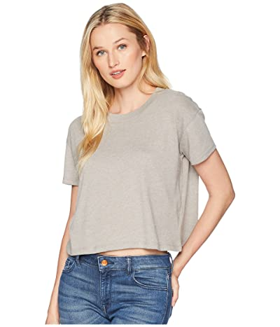 Alternative Headliner Cropped Tee (Smoke Grey) Women