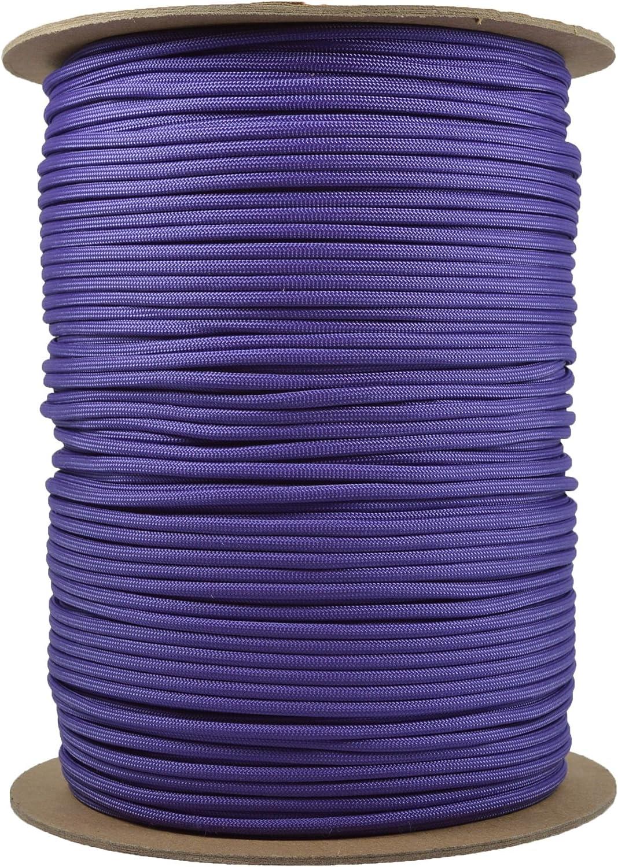 BoredParacord Brand Paracord 1000 Spool Purple - New life ft. Free shipping