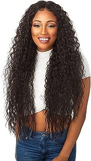 Sensationnel 100% Premium Fiber Empress Free Part Lace Front Edge Wig - BROOKLYN (1B [Off Black])