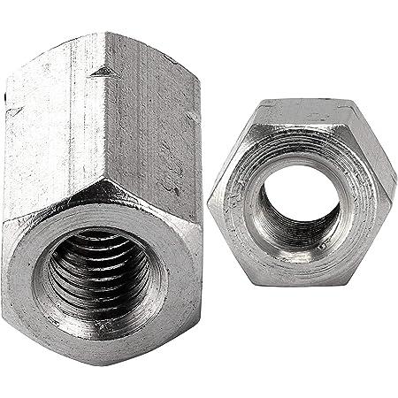 Edelstahl A2 V2A - Gewindemuffen Sechskant Eisenwaren2000 M10 x 25 mm Sechskantmuffe 30 St/ück rostfrei
