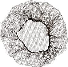 Brown Soft Heavyweight Nylon Honeycomb Hairnet, 24