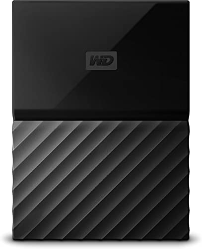WD My Passport 2TB Portable External Hard Drive (Black) product image