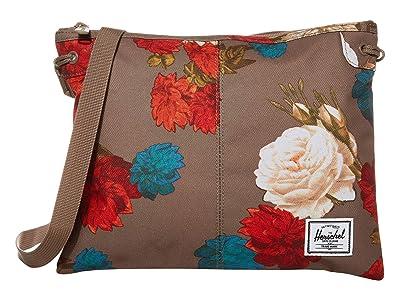 Herschel Supply Co. Alder (Vintage Floral Pine Bark) Cross Body Handbags