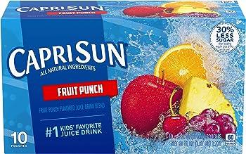 4-Pack Capri Sun Fruit Punch Juice Drink, 60 Fl. Oz