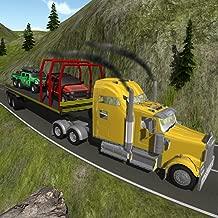Heavy Truck Trailer 4x4 Cargo