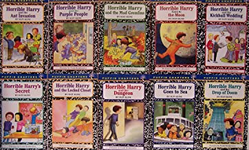 Horrible Harry and the Drop of Doom / Horrible Harry Kickball Wedding / Horrible Harry's Secret / Horrible Harry and the Purple People, Horrible Harry and the Mud Gremlins / Ant Invasion / Locked Closet / Goes to the Moon / Goes to Sea / Dungeon