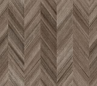York Wallcoverings GE3601 Ashford Geometrics Gradient Chevron Wallpaper, Variations Of Browns