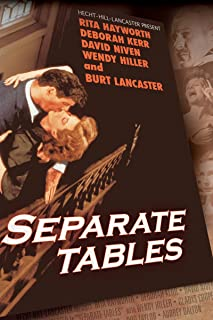 separate tables 1958