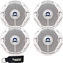 JBL MS6520B OEM Replacement Speakers - Marine 6.5 Inch Two-Way Speakers - 2 Pairs, White