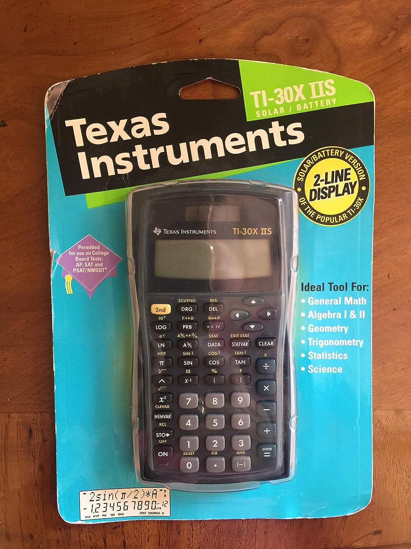 Back To School Texas Instruments IIS Fundamental 2-Line Fashionable TI-30X 5 popular
