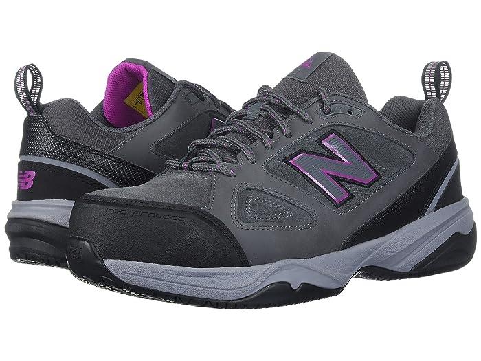 New Balance  627v2 (Grey/Pink) Womens Cross Training Shoes