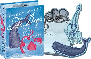 Deep Sea Notes - Sea Monsters Sticky Notes Booklet