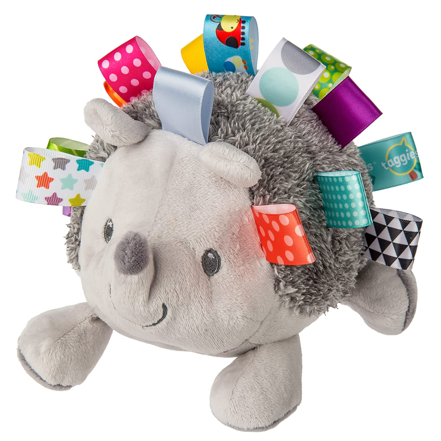 Mary Meyer Taggies Max supreme 73% OFF Soft Hedgehog Toy Heather