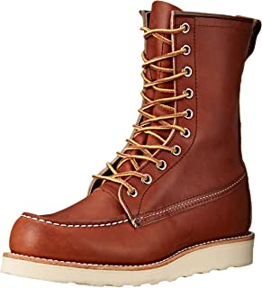 Best red wing shoes motorcycle boots Reviews