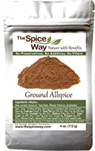 The Spice Way Allspice - ground | 4 oz | a multipurpose berry powder for curries, sauces, soups and even pastries