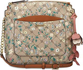 حقيبة بسلسلة طويلة تمر بالجسم من ناين ويست- نمط مورد