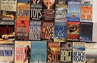 James Patterson Mystery Novel Collection 22 Novel Set